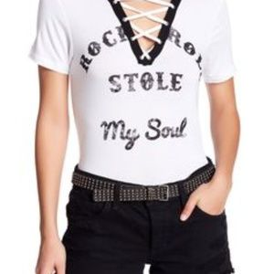 Rock and Roll Stole My Soul tee
